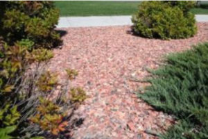decorative red gravel for landscaping in Montrose