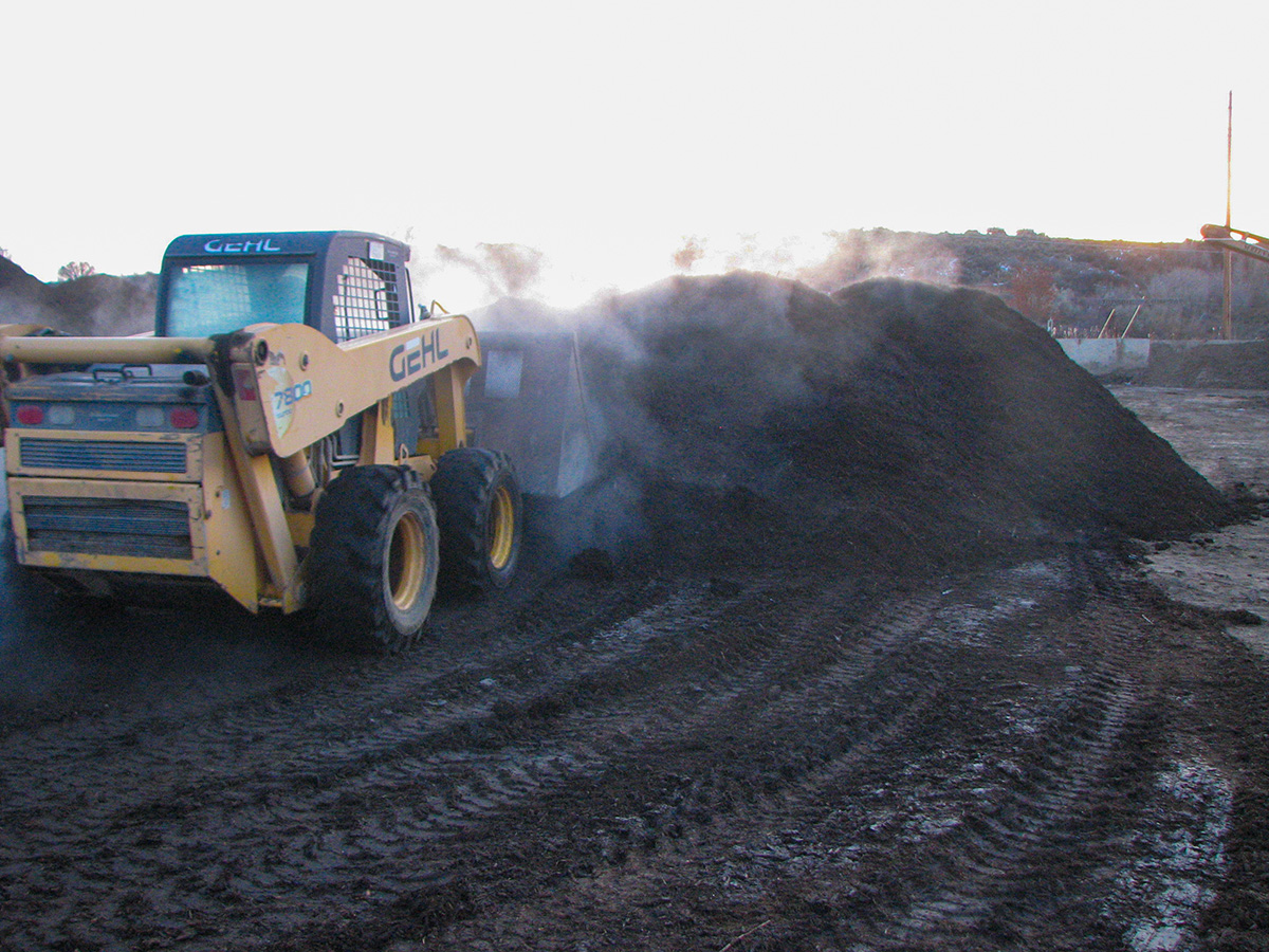 making compost in Montrose, CO